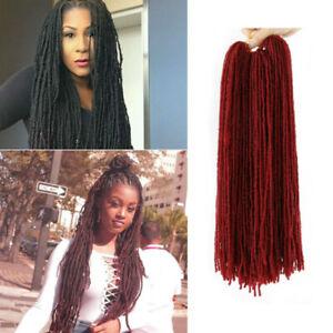 Fashion Dreadlocks Hairpieces Jamaica Style Long Curly Synthetic Hair Ebay