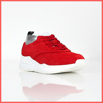 Sneakers Donna Liu Jo B19009 PX025 Scarpe Pelle Scamosciata Sabbia Rosse Nuove