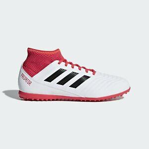 Dettagli su Scarpe calcetto Adidas bambino Predator Tango 18.3 CP9040 Bianco Nero Rossa