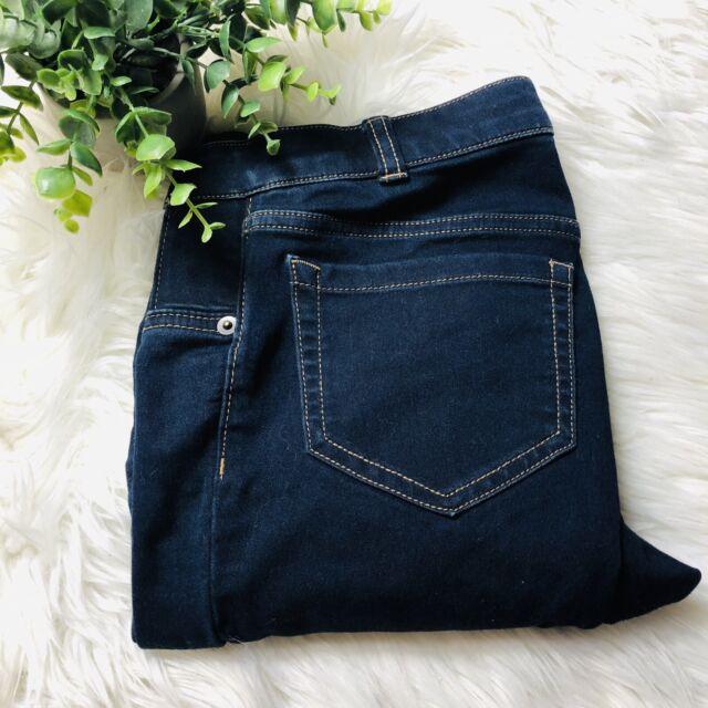 Liz Lange Maternity Dark Wash Leggings Jeans Size XS 0-2