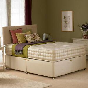 New hf4you 2000 pocket sprung divan bed set 5ft for Pocket sprung divan beds sale