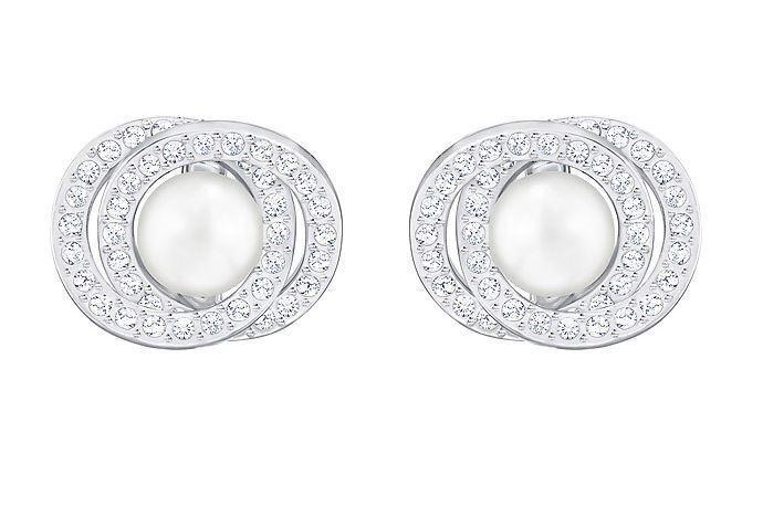 Swarovski 5289270 Elaborate Pierced Earrings, Aprx Size 1.5cm RRP  149