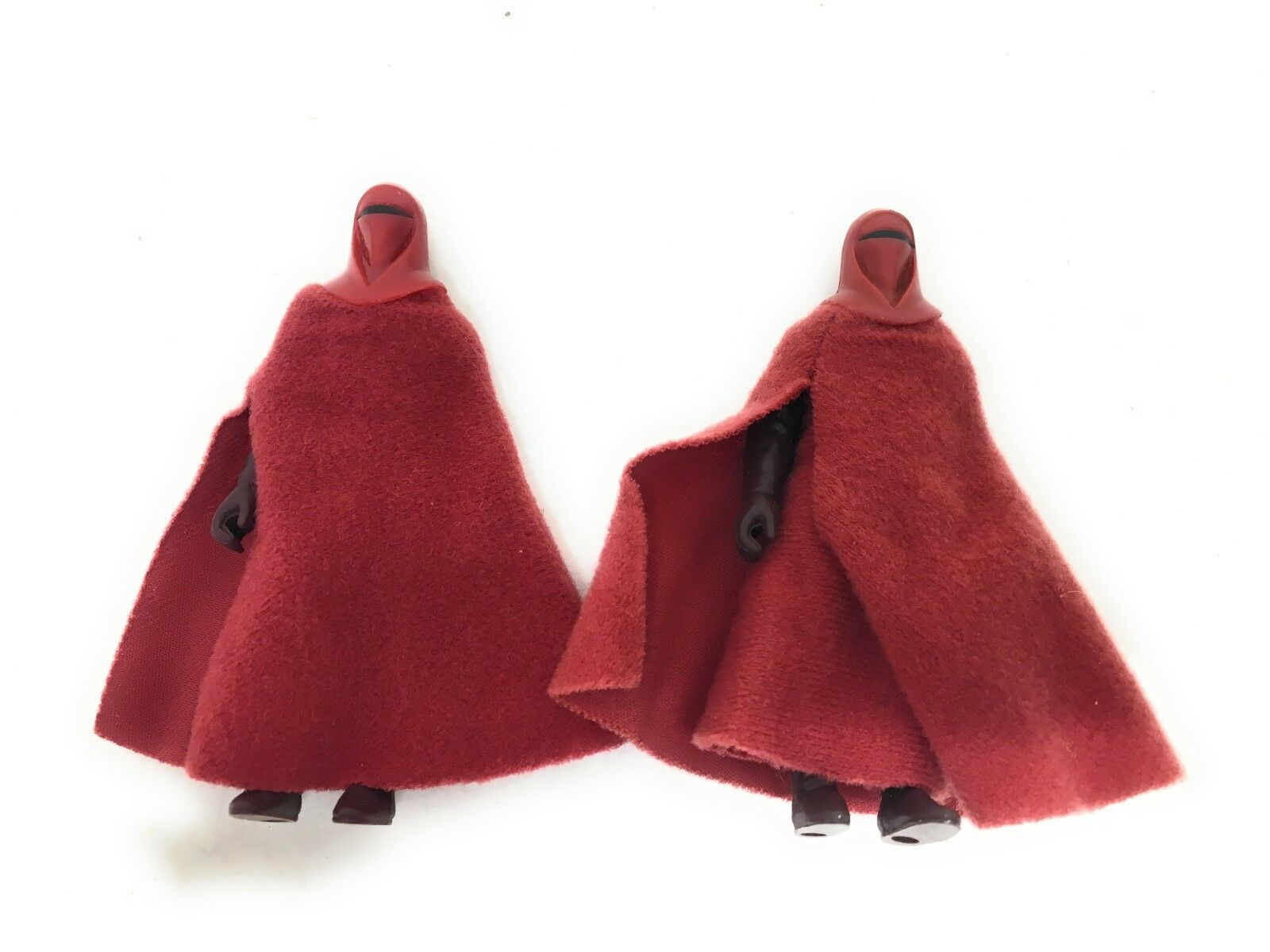 Vintage Star Wars EMPERORS ROYAL GUARD - All Original Lili Ledy Lot of 2 Figures