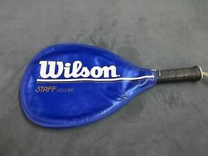 Wilson Staff Kevlar 4 3/8 M mid-sized raquet ball racket sports tennis athletic