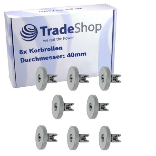 Korbrollen Unterkorb Rollen Räder Spülmaschine Geschirrspüler passt für AEG 40mm
