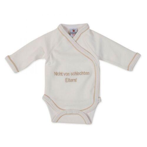 "Milarda Baby Body Wickelbody /""pas de Mauvais parents/"" taille 50 crème"
