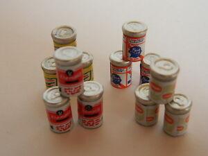 (f1-25) Maison De Poupées 12 X Mini Canettes De Bière-afficher Le Titre D'origine N0kbzvu0-07173435-903988553