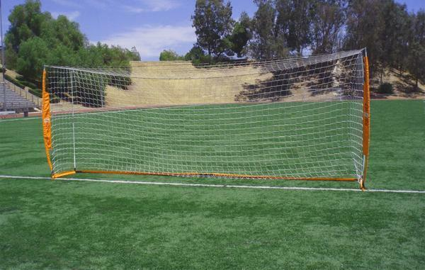 Bow Net (6.6x18.6) Goal - official USSF Regulation Size for U9 - U12