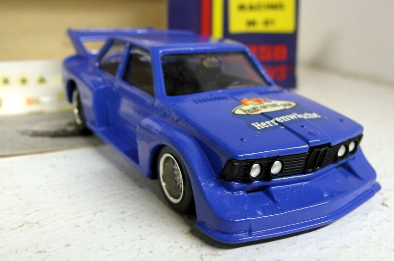Luso toys 1 43 Scale M.21 BMW 320 Racing Fruit of Loom vintage diecast model car
