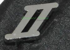 "Classic Mini New MK2 Chrome Small ""II"" badge - Austin Mini Cooper"