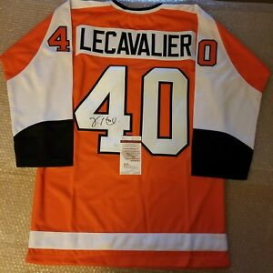 official photos 8b0bd 07234 Details about Vincent LeCavalier Philadelphia Flyers Signed Jersey JSA  Witnessed COA