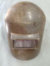 Jackson Welding Mask Helmet No Flip Up View Lens Steampunk Vintage Mcm Costume