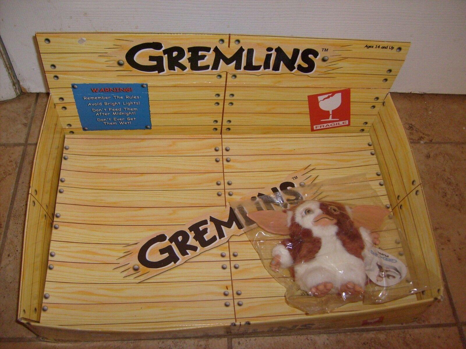 GREMLINS GIZMO 6  MOVIE MOVIE MOVIE NECA PLUSH FIGURE NEW WITH RARE STORE DISPLAY 0c8f8a
