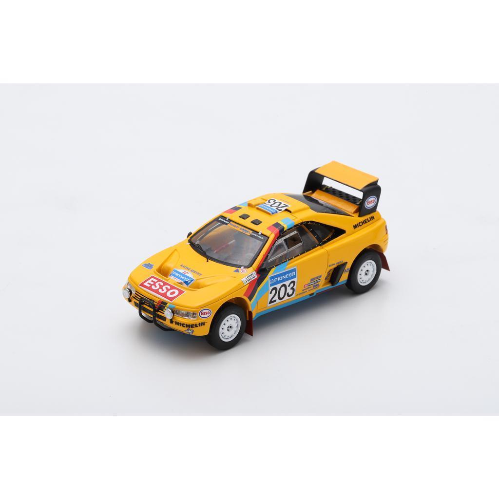Nuevos productos de artículos novedosos. S5624 Spark  1 1 1 43 Peugeot 405 T16 Grand Raid Camello  203 París-Dakar 1990 ganador  gran venta
