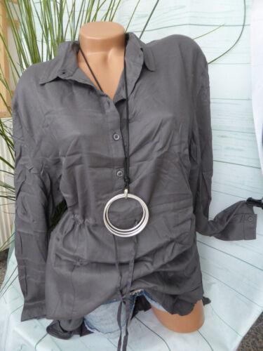 926 Sheego viscose chemisier Shirt Taille 40-58 doux descendant NEUF
