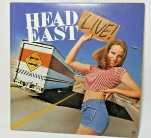 VERY-RARE-Promotional-HEAD-EAST-034-LIVE-034-1979-A-amp-M-2-LP-039-s-For-Broadcast-amp-Review