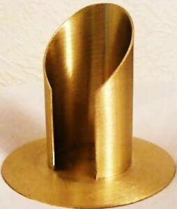 Kerzenständer  für Taufkerze und Kommunionkerze 50 mm