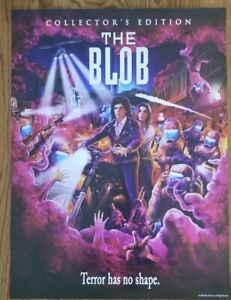 The Blob - Scream Shout Factory Movie Poster 18x24 horror 80s rare film print