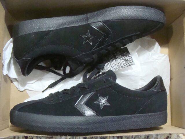 dd06d0ca3fc138 Converse Cons Break Point Mono Suede Ox Shoes Sz 11 Black Leather ...