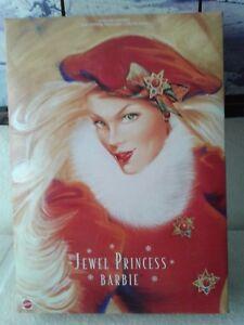 Jewel-Princess-Barbie-Doll-1996-Mattel-Number-15826-Limited-Edition-Winter-Coll