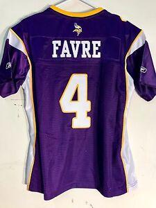 Details about Reebok Women's Premier NFL Jersey Vikings Brett Favre Purple sz S