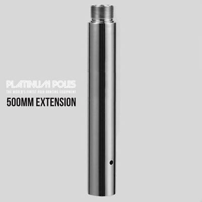 PLATINUM POLES™ 45mm Dance Pole 50cm / 500mm Extension Pole