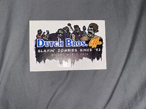 Dutch Bros Slayin Zombies