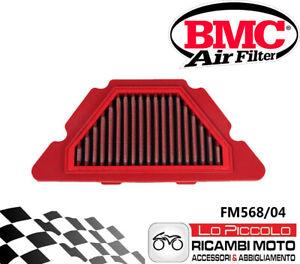 BMC fM567//04/filtre /à air yamaha wR125R 2009/lavable Racing Sport