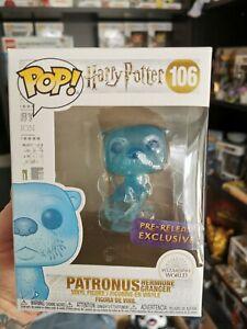 Protettore Harry Potter-Hermione Granger PATRONUS Pre-Release Funko Pop!