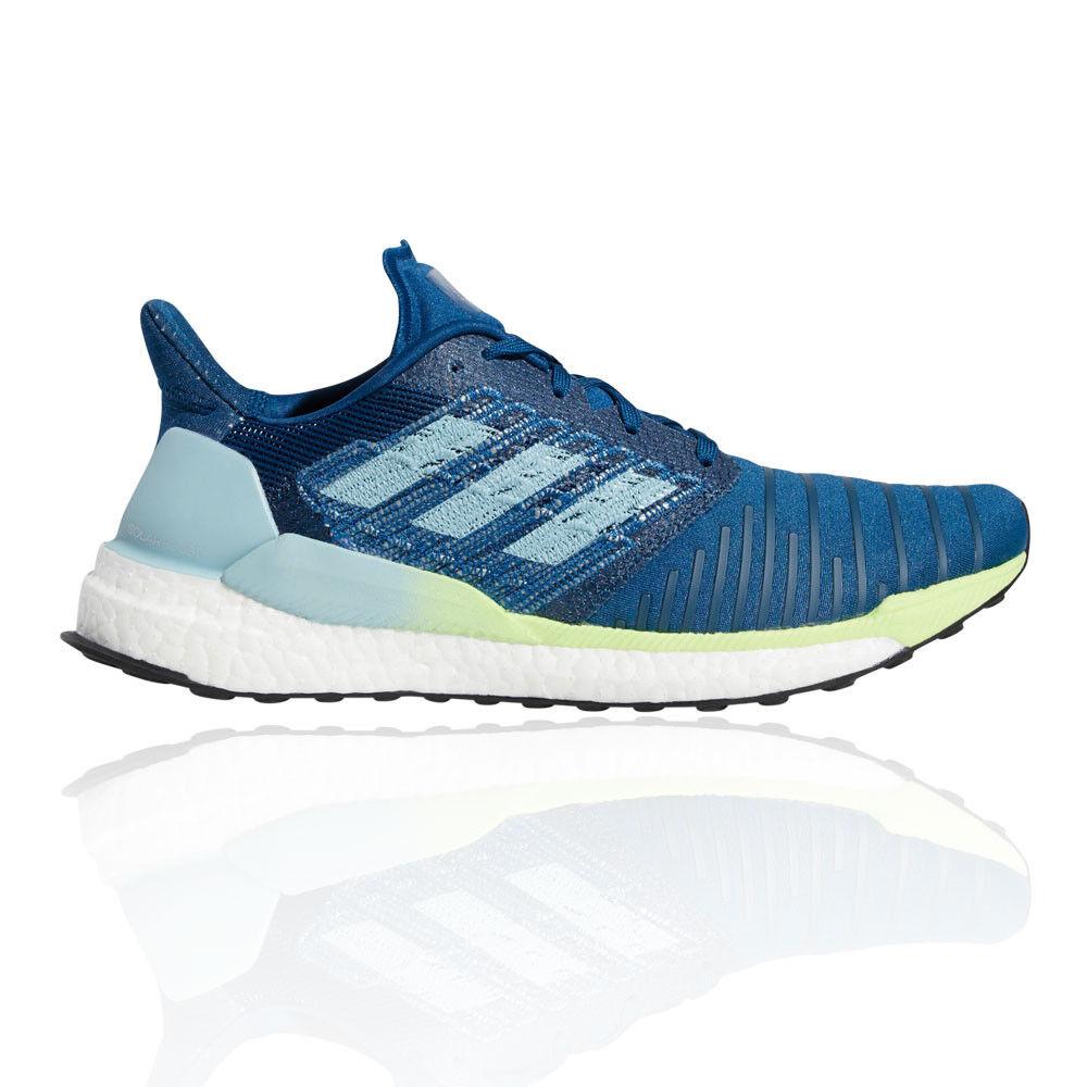 Adidas Uomo Solar Boost Scarpe Da Corsa Ginnastica Sport scarpe da ginnastica Blu Leggere