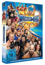 WWE WrestleMania 33 [3 DVDs] DEUTSCH + Hall of Fame 2017 *NEU* WM XXXIII DVD