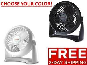 Honeywell-Whole-Room-TurboForce-Air-Circulator-Floor-Table-Wall-Fan-Black-New