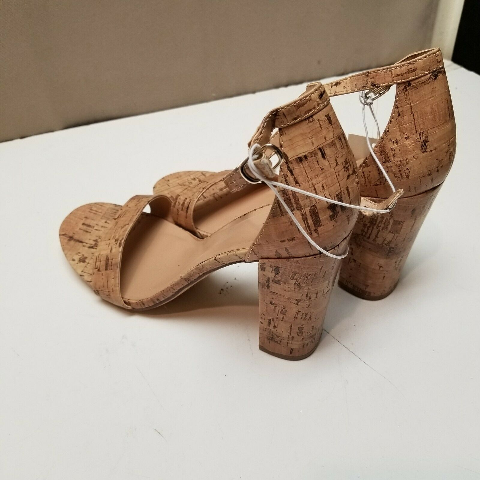 Women's Ema Tan High Block Heel Pumps by A NEW DAY - Size 9 NWT
