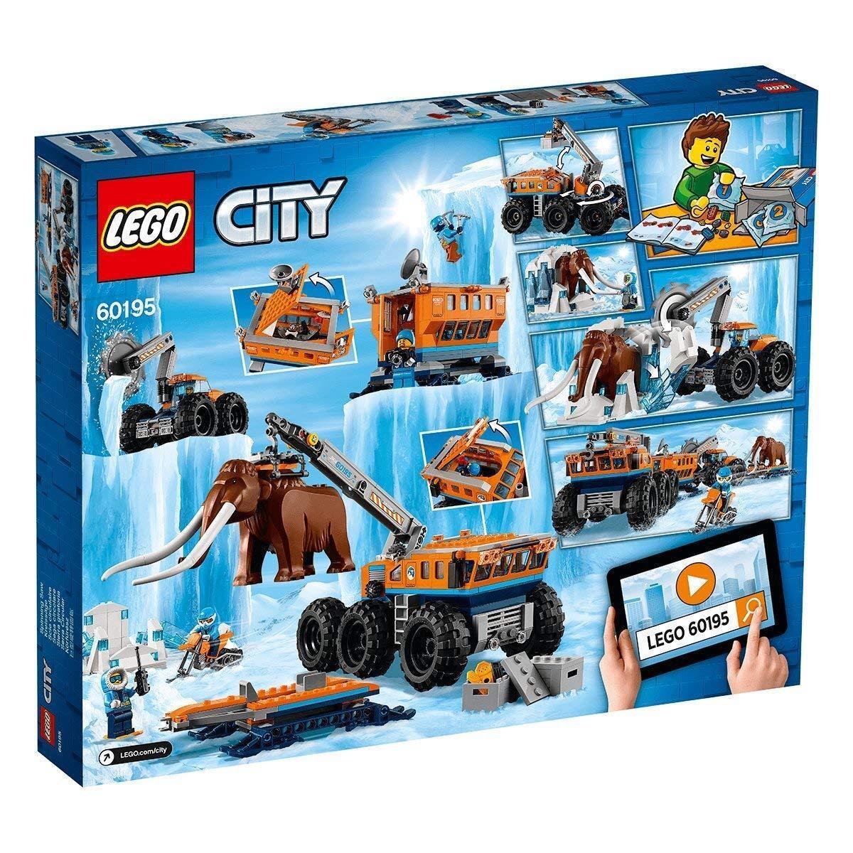 LEGO città -  60195-mobile ARTICO-stazione di ricerca-NUOVO & OVP  shopping online e negozio di moda