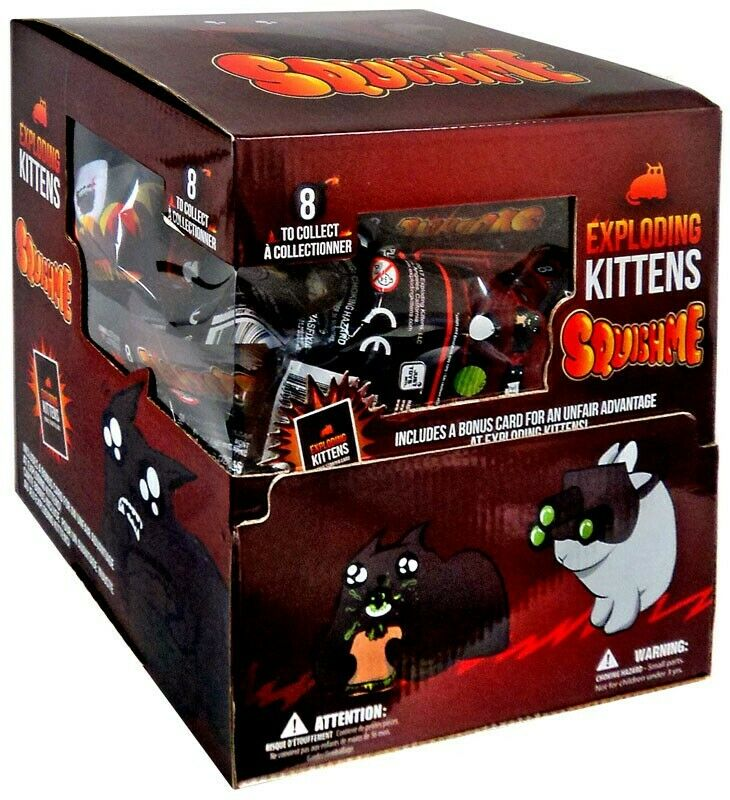 Explosión Kittens SquishMe Mystery Minis Blind Caja [24 paquetes]