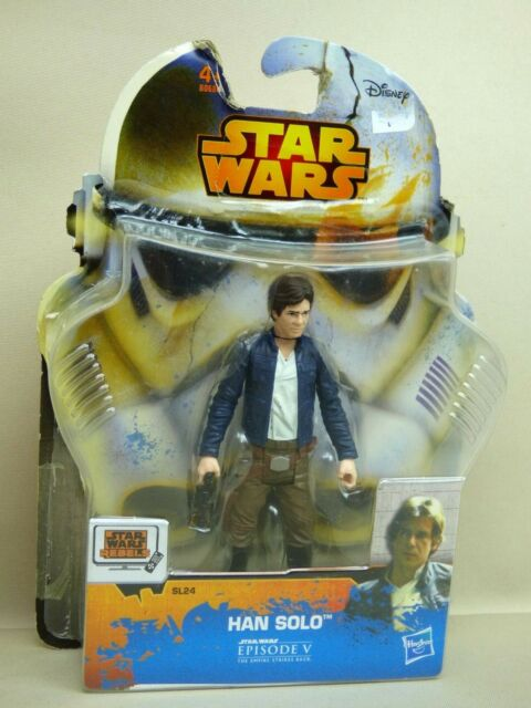 Star Wars Rebels Saga Legends Figurine HAN SOLO  Hasbro SL24-B0686-