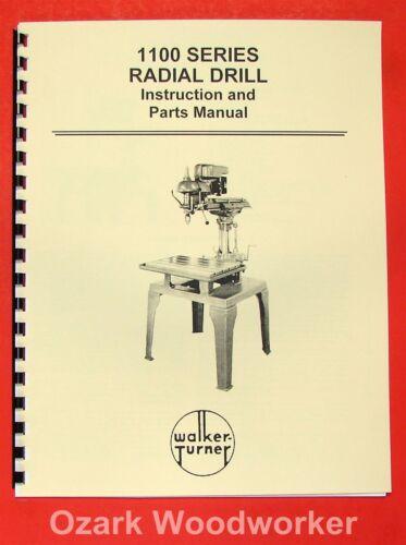 BROWN /& SHARPE 618 Micromaster Surface Grinder Parts Manual 0093