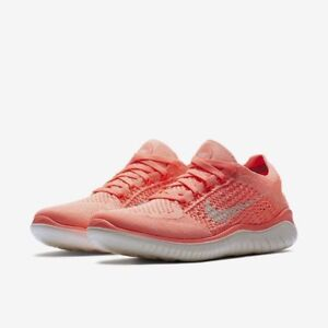 6891a95a322 Nike Free RN Flyknit 2018 Women s Running Shoes Crimson Pulse Sail ...