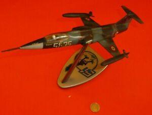 F 104 51 Stormo Fomaer Corps en Aluminium Ami 1/58 Frecce Tricolori Vintage