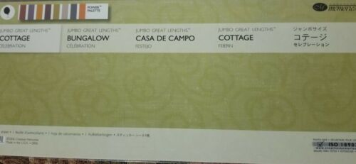 Creative Memories COTTAGE CELEBRATION JUMBO GREAT LENGTHS STICKER PACK NEW