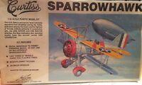Williams Bros. CURTISS SPARROWHAWK 1/32 Scale Plastic Model Kit# 32-F9C