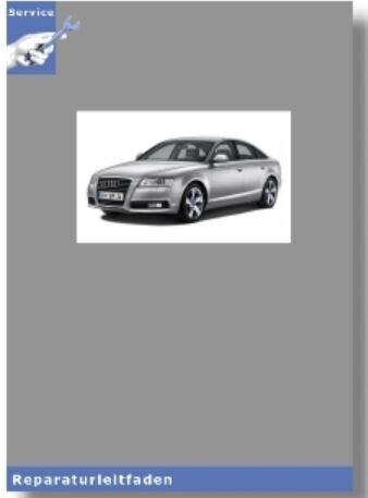 di carburante approvvigionamento MOTORI DIESEL-Guida di riparazione 05-11 AUDI a6