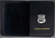 Westchester County Corrections Officer Family Member Book Wallet (w/Mini badge)
