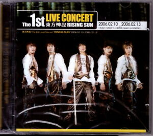 TVXQ-Tohoshinki-The-1st-Live-Concert-Rising-Sun-2CD-New-Sealed-KPOP