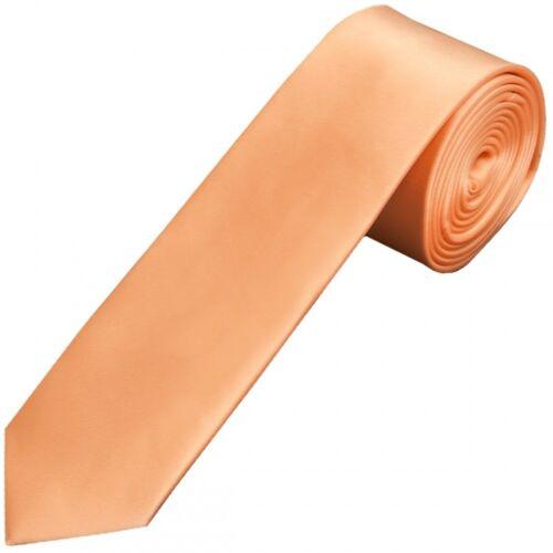 Plain Peach Satin Boys Tie Wedding Tie Kids Tie Prom Tie Neck Tie