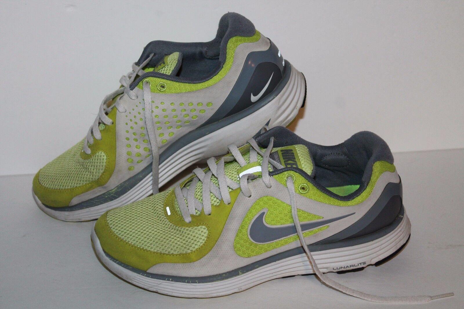 Nike Lunarswift + Running Shoes, 8 Lime/Grey, Womens US Size 8 Shoes, 0cf4e7