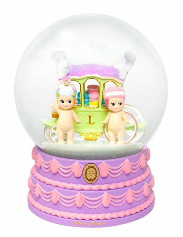Sonny Angel Snow Globe Secrets of Ladurée French Pastry Pastry Pastry Collector Snow Globe 82ef82