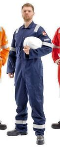 Roots Navy RO13090 Flamebuster FR Overall Coverall UK 54 EU 64