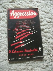 Aggression-The-Origin-of-Germany-s-War-Machine-By-O-Lehmann-Russbueldt