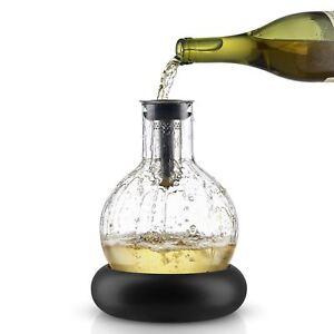 Décanteur À Vin eva solo cool verre décanteur carafe designer blanc refroidisseur de